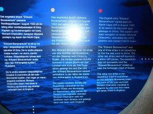 Info overvgeschiedenis v d Noordkaap
