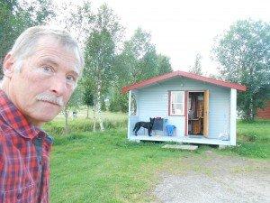 Vierpersoonshut in Ballangen Camping